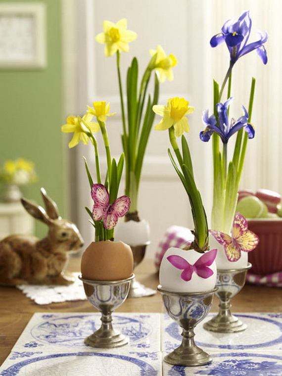 Spring lights on the Easter table _51