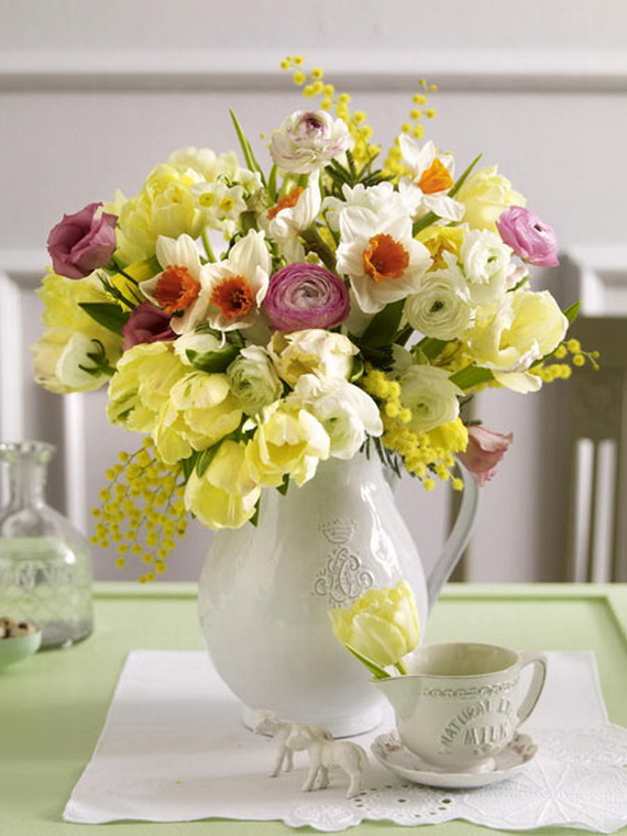 Spring lights on the Easter table _53