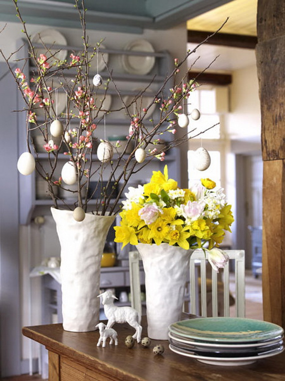Spring lights on the Easter table _54