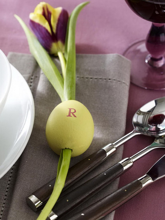 Spring lights on the Easter table _60