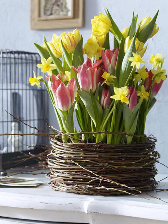 Spring lights on the Easter table _61