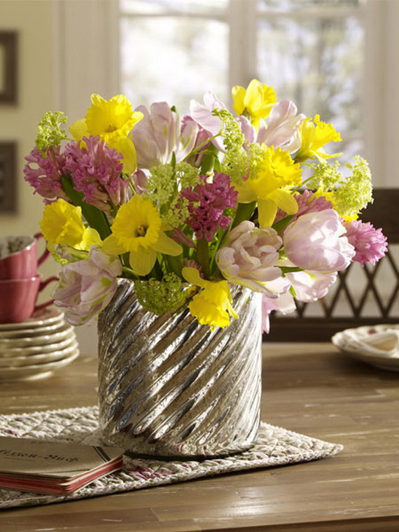 Spring lights on the Easter table _63