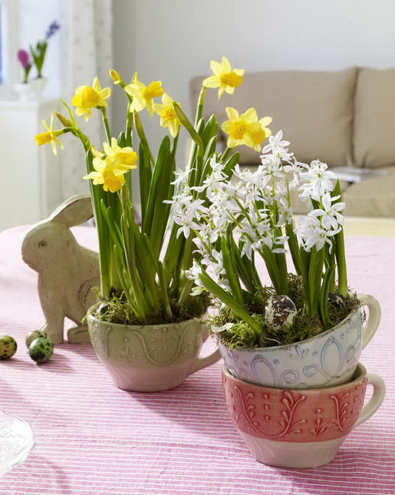 Spring lights on the Easter table _78