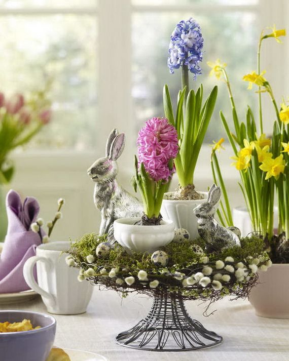 Spring lights on the Easter table _81