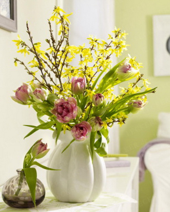Spring lights on the Easter table _83