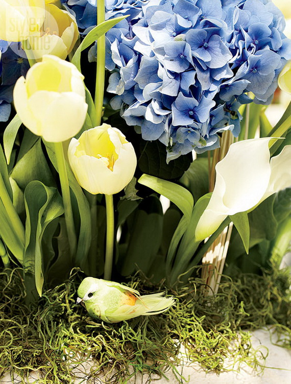 Stylish Spring and Easter 2014 Flower Arrangement Collections _05