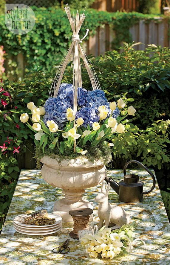 Stylish Spring and Easter 2014 Flower Arrangement Collections _06