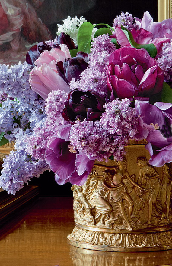 Stylish Spring and Easter 2014 Flower Arrangement Collections _11