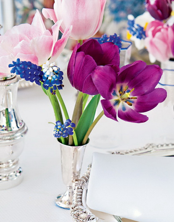 Stylish Spring and Easter 2014 Flower Arrangement Collections _12