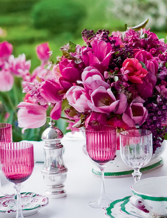 Stylish Spring and Easter 2014 Flower Arrangement Collections _14