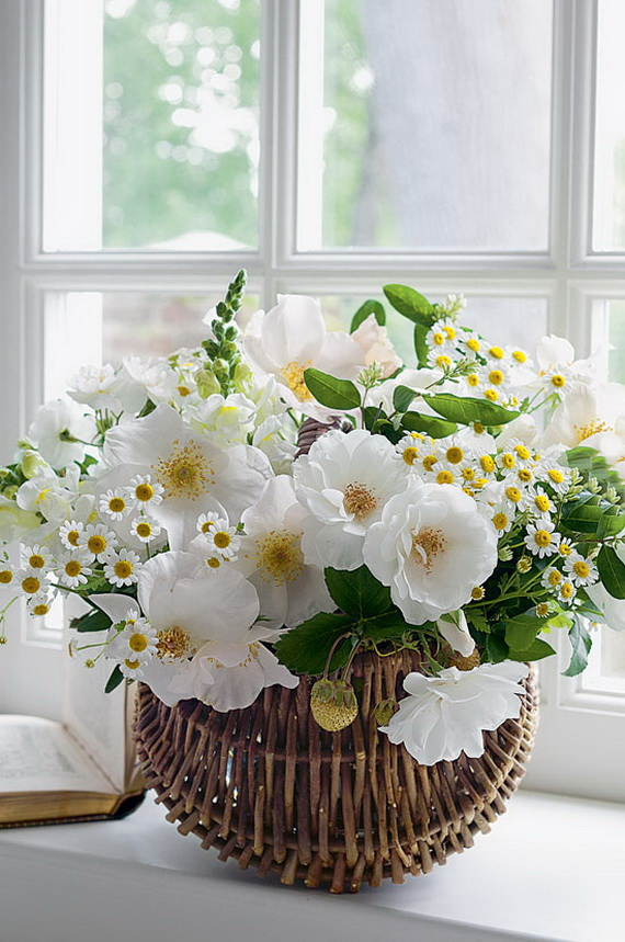 Stylish Spring and Easter 2014 Flower Arrangement Collections _17