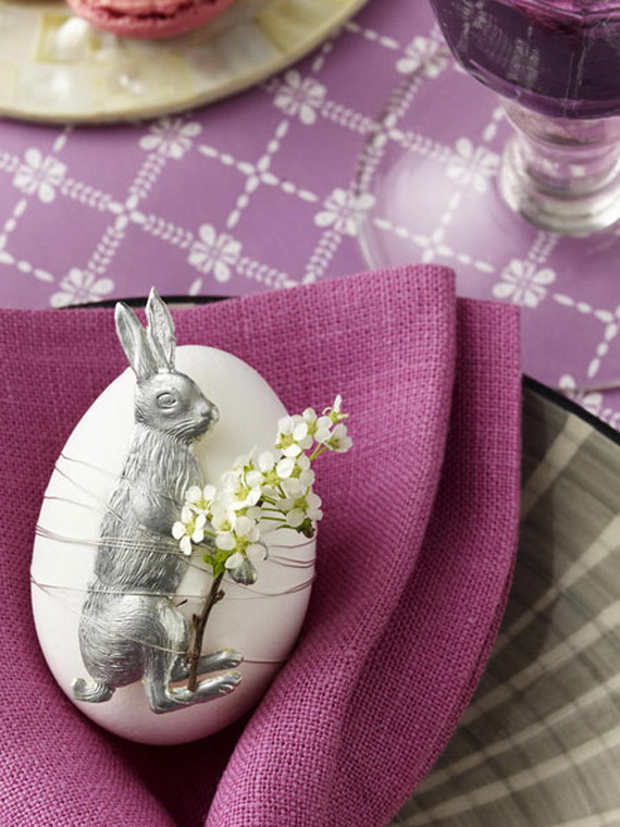 50 Adorable Bunny Craft Ideas To Celebrate The Easter Holiday _16