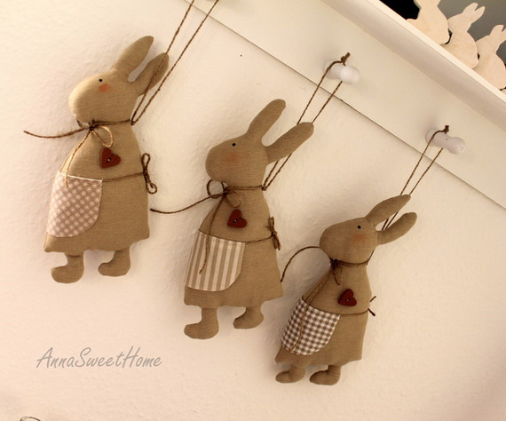 50 Adorable Bunny Craft Ideas To Celebrate The Easter Holiday _21