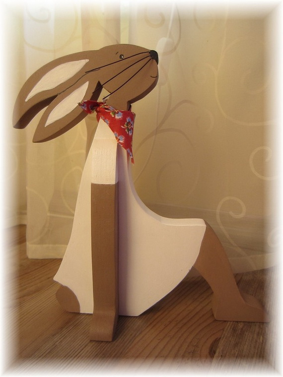 50 Adorable Bunny Craft Ideas To Celebrate The Easter Holiday _37