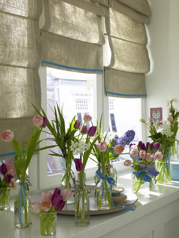 50 Elegant Easter Window Decoration (14)