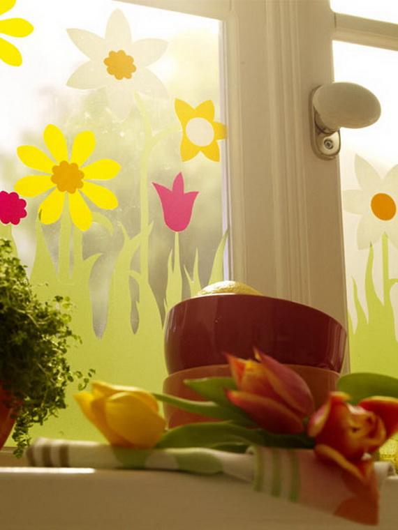 50 Elegant Easter Window Decoration (20)