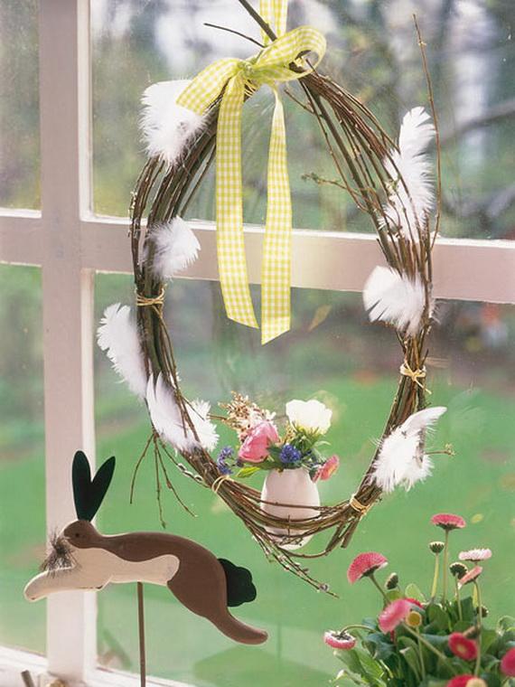50 Elegant Easter Window Decoration (22)
