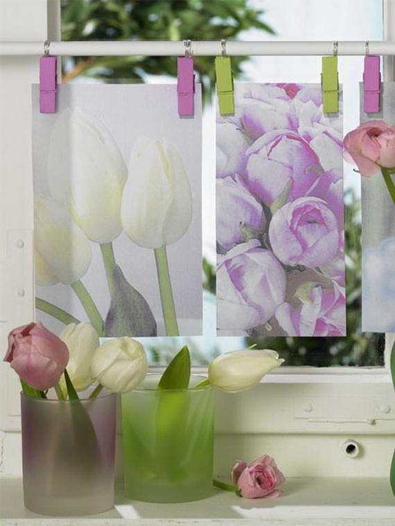 50 Elegant Easter Window Decoration (23)
