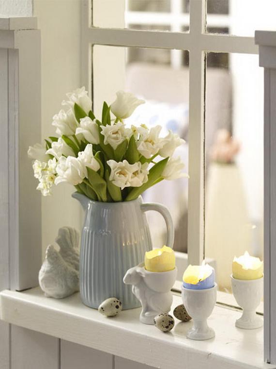 50 Elegant Easter Window Decoration (26)