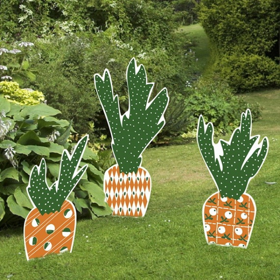 70 Awesome Outdoor Easter Decorations For A Special Holiday_04
