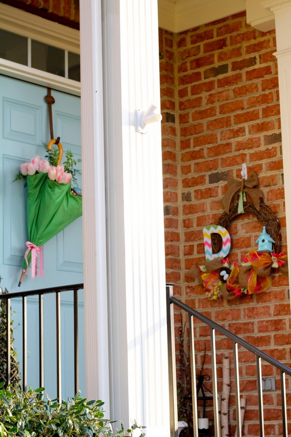 70 Awesome Outdoor Easter Decorations For A Special Holiday_09