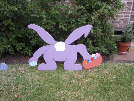 70 Awesome Outdoor Easter Decorations For A Special Holiday_10