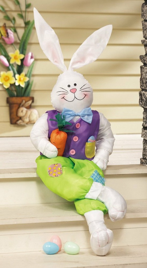 70 Awesome Outdoor Easter Decorations For A Special Holiday_23