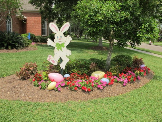 70 Awesome Outdoor Easter Decorations For A Special Holiday_24