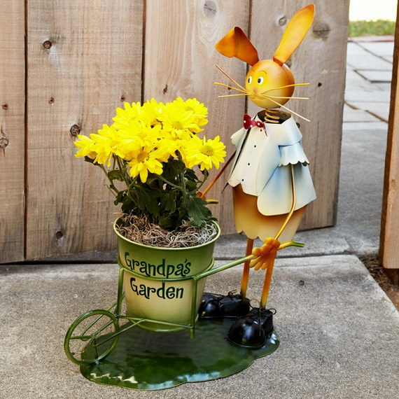 70 Awesome Outdoor Easter Decorations For A Special Holiday_25
