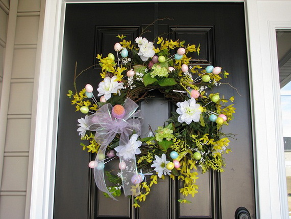 70 Awesome Outdoor Easter Decorations For A Special Holiday_32
