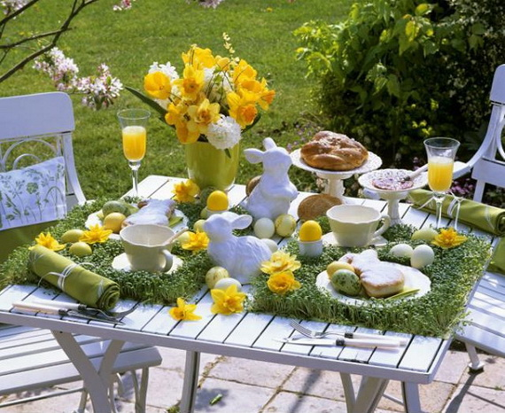 70 Awesome Outdoor Easter Decorations For A Special Holiday_56