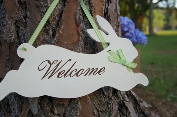 70 Awesome Outdoor Easter Decorations For A Special Holiday_57