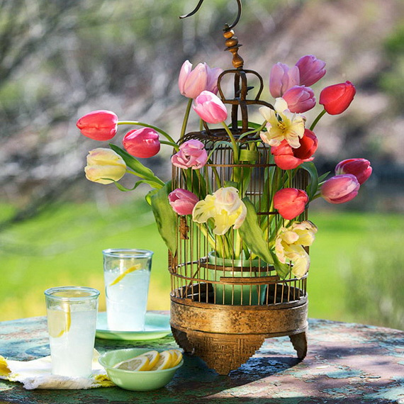 70 Awesome Outdoor Easter Decorations For A Special Holiday_60