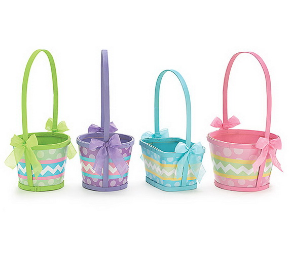 Adorable Easter Baskets You Can Use Year After Year__08
