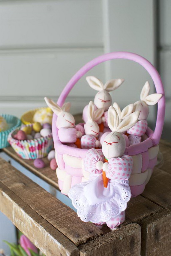 Adorable Easter Baskets You Can Use Year After Year__12