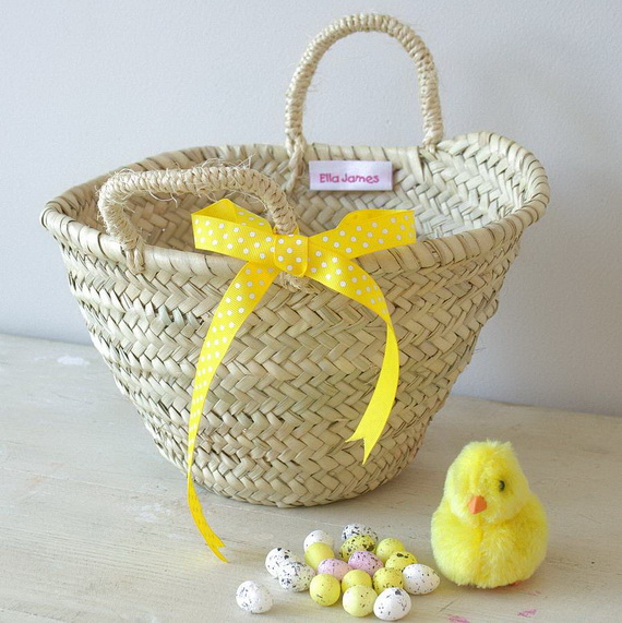 Adorable Easter Baskets You Can Use Year After Year__23