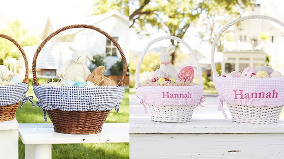 Adorable Easter Baskets You Can Use Year After Year__37