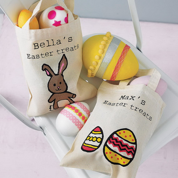 Adorable Easter Baskets You Can Use Year After Year__55