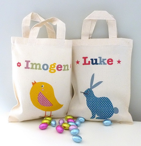 Adorable Easter Baskets You Can Use Year After Year__57