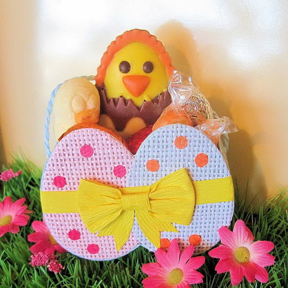 Adorable Easter Baskets You Can Use Year After Year__64