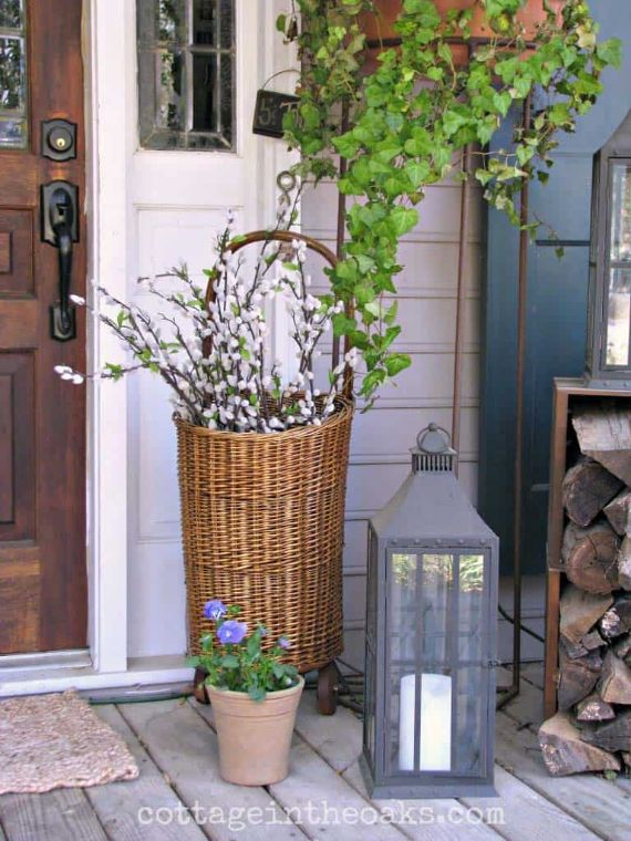 Chic Spring Porch Décor