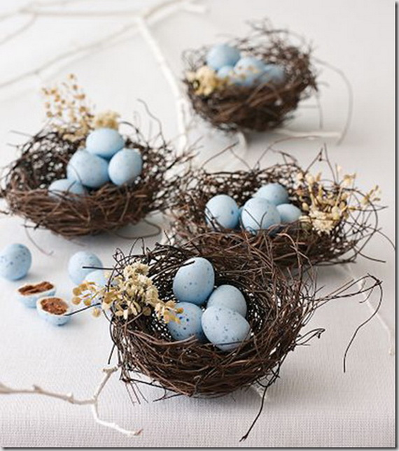 Creative Easter Ideas In Blue And White_09