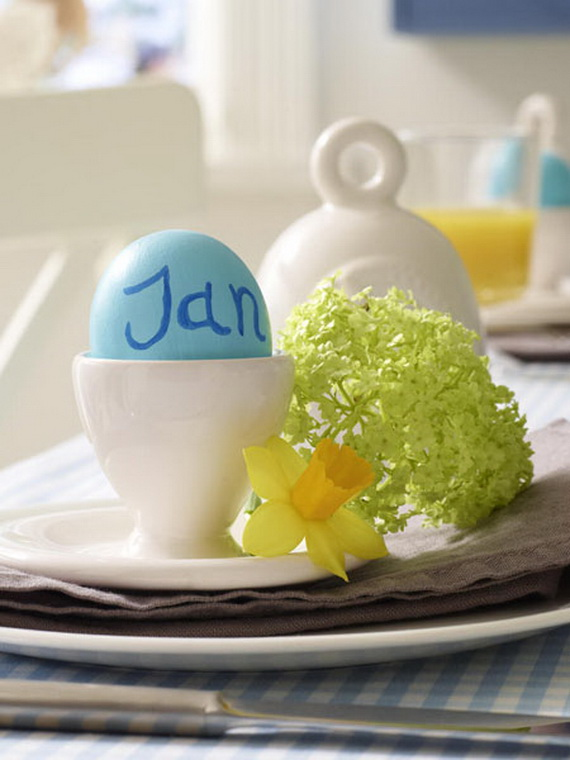 Creative Easter Ideas In Blue And White_12