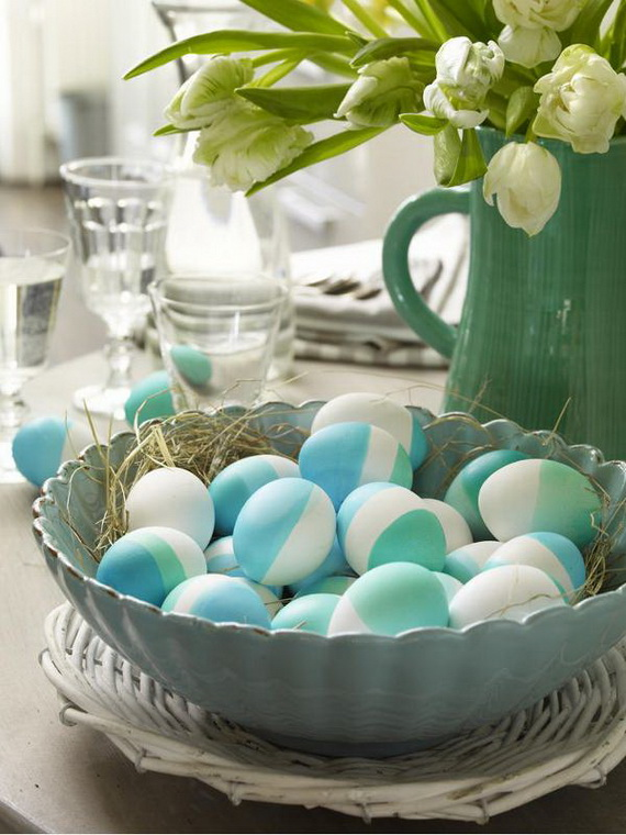 Creative Easter Ideas In Blue And White_21