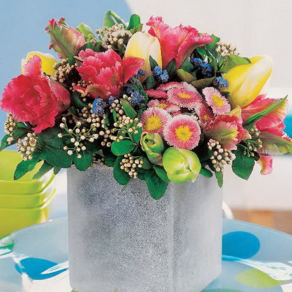 Easy Easter Centerpieces And Table Settings For Spring Holiday_19