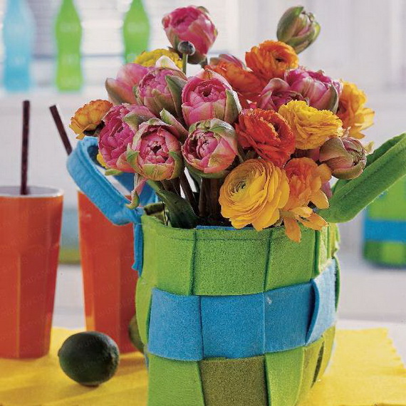 Easy Easter Centerpieces And Table Settings For Spring Holiday_23