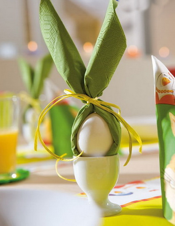 Easy Easter Centerpieces And Table Settings For Spring Holiday_33