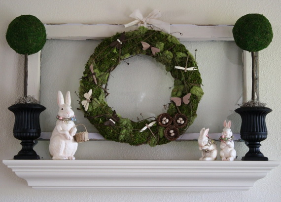Fresh Spring Decorations Ideas - Decorate And Tinker With Moss_43