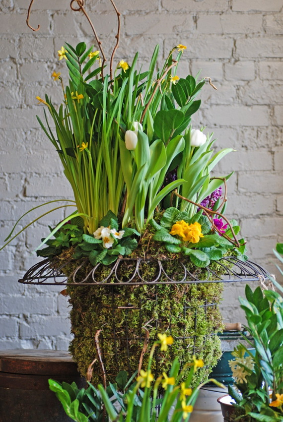 Fresh Spring Decorations Ideas - Decorate And Tinker With Moss_71