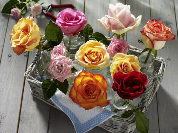 Gorgeous Single Flower Decoration Ideas  (10)